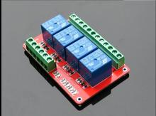 5V /12V /24V Optional 4 channel relay drive modules PLC control Two way terminal wiring Low level(China)