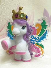 1Piece/lot Popular Simba Filly Butterfly Princess Scarlet Flocking Little Horse Dolls Action Figure Fillies Kid's Christmas Gift