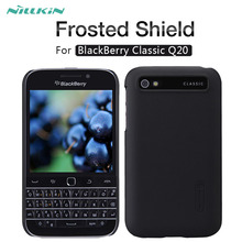 For BlackBerry Q20 case NILLKIN Super Frosted Shield matte hard back cover case For BlackBerry Classic Q20 with screen protector