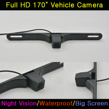 960*576 pixels 520 TV HD Universal License plate frame Car Rear View camera back up Number Rearview Reverse Reversing Camera