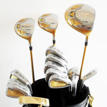 New mens Golf clubs S-03 Golf complete set of clubs driver+fairway wood+irons+putter+bag Graphite shaft and cover free shipping