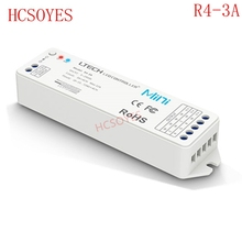 R4-3A CV wireless receive constant voltage, match the model V1 RF dim remote controller ,RGB LED controller for LED strips tape(China)