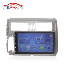 "Bway 9"" Quad core car radio for Toyota Prado 2010 2011 2012 2013 android 6.0 car DVD player with Wifi,BT,SWC,support DVR"