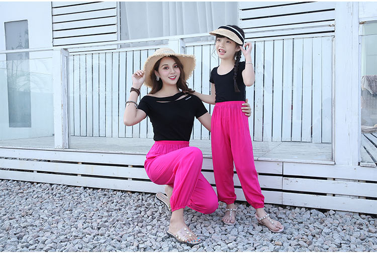 Baggy Pants Women Plus Size Women Pants 19 Summer Women Solid Color Casual Loose Harem Pants Trousers Pantalon Femme Pantalon 19