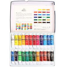 High Quality Professional Acrylic Paints Set Hand Painted Wall Art Drawing Tools Textile Paint Brightly Colored Artist Supplies