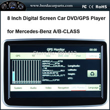 New Car radio dvd Navigation for Mercedes-Benz A/B CLASS with GPS+IPOD+SD+USB+RCA+AUX CAN BUS(China)
