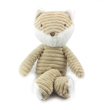 Baby Plush Toys Sleep toy kids fox doll brinquedos juguetes peluche renard jouet bebes pelucia Doudou(China)