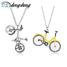 Buy dongsheng Hot Sale New Stranger Things Bicycle Long Chain Necklace Lovely Bike Choker Pendant Necklace Women Men Jewelry -30 for $1.38 in AliExpress store