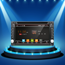 Quad core 6.2inch 2 din Android 6.0 Car Audio Stereo Radio 800*480 With GPS TV 3G Wifi GPS Navigation Head Unit Free Map