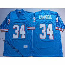 Mens Retro 1997 Earl Campbell Stitched Name&Number Throwback Football Jersey Size M-3XL(China)