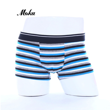 Buy Cotton Boxer Underwear XXL Brand Men Cueca Boxer Mens Panties Sheer Boxer Shorts Underpants Strip Hombre Mens Trunks
