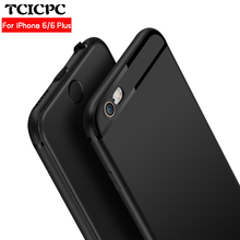 For Iphone 6 Case 6 plus case TCICPC Luxury Smooth Matte Shockproof Back Cover Case For Iphone 6S Plus Iphone Case For Iphone6 S