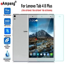 Buy Tempered Glass Lenovo Tab4 Tab 4 8 Plus TB-8704X TB-8704F TB-8704N Clear Screen Protective Film Tablet PC Screen Protector for $5.86 in AliExpress store