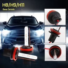 1 Pair h11 xenon bulb Lamp kit 35W 55W Super Bright 3000K 4300K 5000K 6000K 8000K 10000K 12000K 15000K  Headlamps