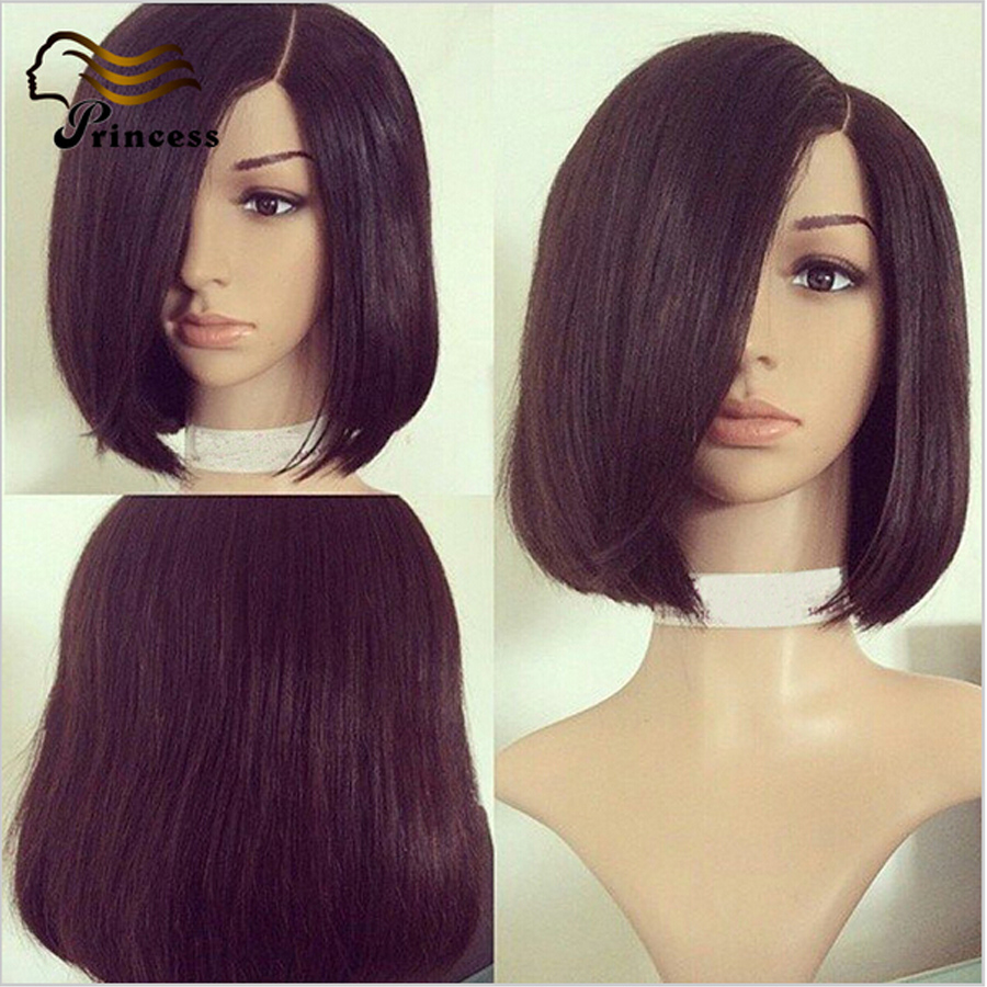 Cheap Short Bob Wigs For Black Woman 7A Brazilian Full Lace Human Hair Wigs With Baby Hair Glueless Lace Front Human Hair Wigs<br><br>Aliexpress