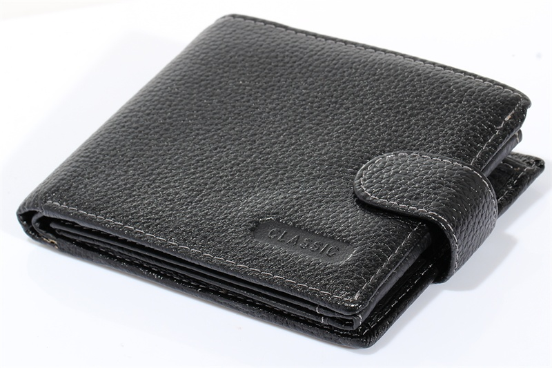 Mens Wallets Black Real Genuine Cowhide Leather Bifold Clutch Wallet Coin Purse Pouch Passport ID Card Holder Dollar Package<br><br>Aliexpress
