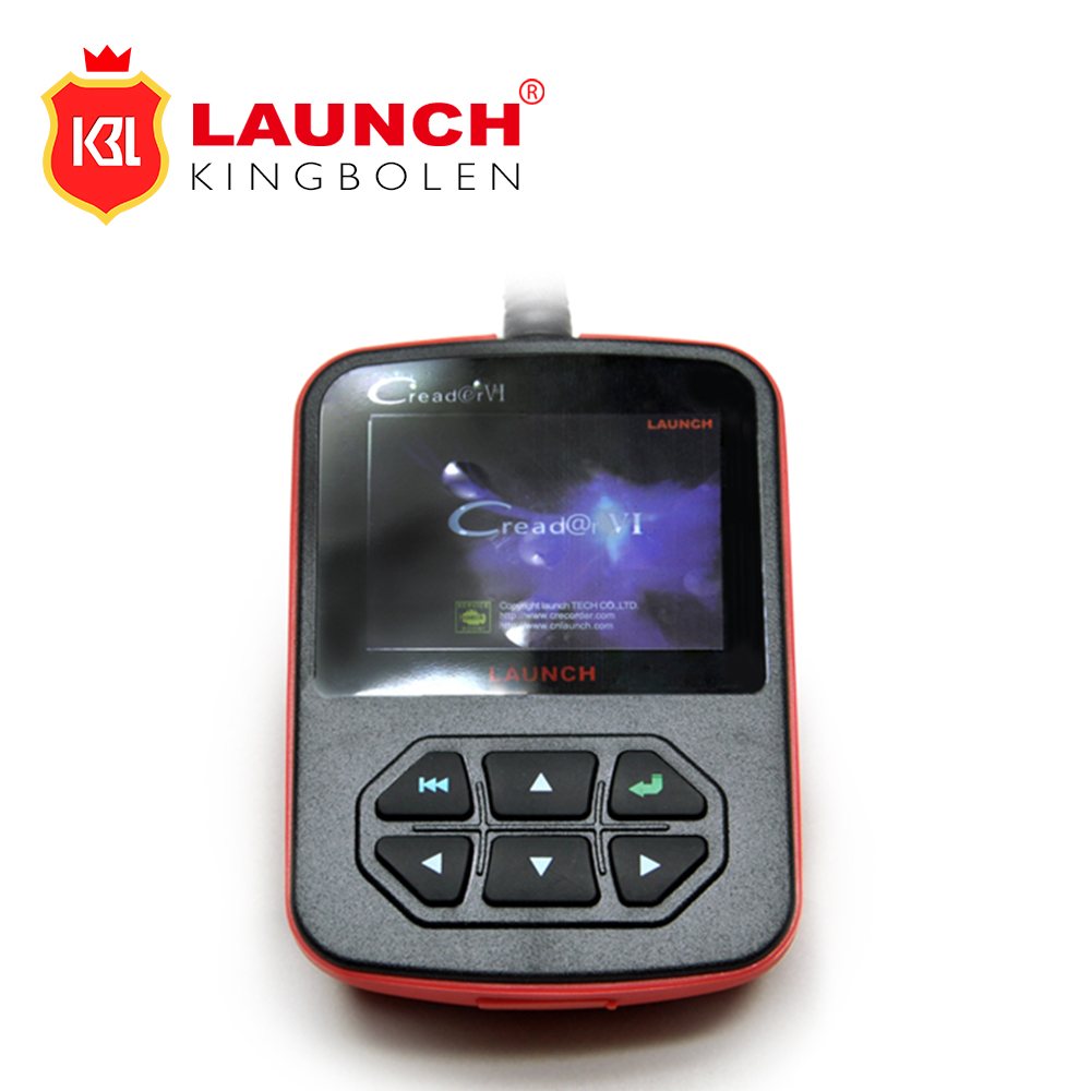 Original Launch X431 CReader VI Code Reader Update On Official Website Launch CReader 6 With Free Shipping(China (Mainland))