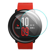Premium Tempered Glass For Xiaomi Huami Amazfit Sports Smart Watch Screen Protector 9H Toughened Protective Film Guard
