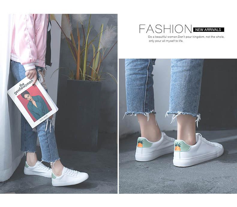 حذاء نساء لون ابيض 5
