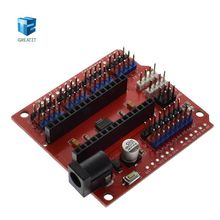 Buy 1PCS NANO UNO multi-purpose expansion board arduino nano 3.0 RED for $1.40 in AliExpress store