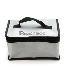 New Arrival Fireproof RC LiPo Battery Safety Bag Safe Guard Realacc Fire Retardant Lipo Battery Bag 220x155x115mm With Handle(China)