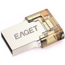 2017 EAGET V8 USB 2.0 Flash Drive Thumb Pen Drive Memory Stick Capacity Expansion 8GB 16GB 32GB for Android Tablet PC Laptop(China)