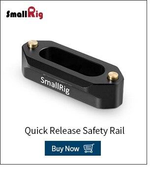 """1255 Abrazadera de carril Swat smallrig con 1//4/"""" y 3//8/"""" agujeros de montaje estándar"""