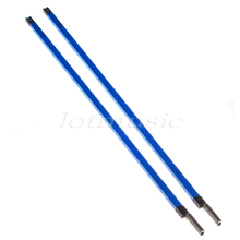 2pcs Double Course Bass Guitar Neck Truss Rod A3 Steel 580mm(22 7/8(China)