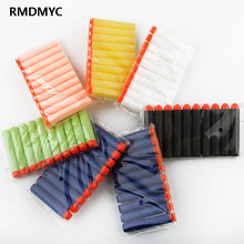 10 pcs foam bullets nerf generic air soft paintball sucker head arme Soft Bullet Blasters Refill Clip Darts for Blaster toy gun
