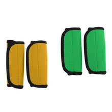 2 Pair Neoprene Kayak Canoe Paddle Grips with Fastening Tape Prevent Blister Calluses for Inflatable Fishing Rowing Boat Access