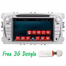 3G 2Din In Dash Android Car DVD Player For Ford/Mondeo/Focus With Dual Core Wifi GPS Navigation Radio FM Steering wheel control