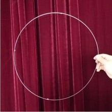 Metal Circle to Square,Stainless Steel - Traditional Magic Tricks,Stage,Gimmick,Props Comedy,Mentalism