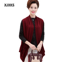 Sleeveless new 2017 poncho women high quality swing spring and autumn cardigan women wrap all-match sweater(China)