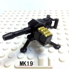 MK19 Grenade launcher original Block toys City swat gun police military lepin weapons accessories Compatible lepin mini figures