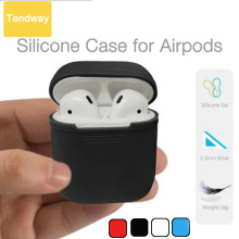 Silicone Shock Proof Protector Sleeve For Apple AirPods Case Skin Cover for AirPods True Wireless Earphone box accessories