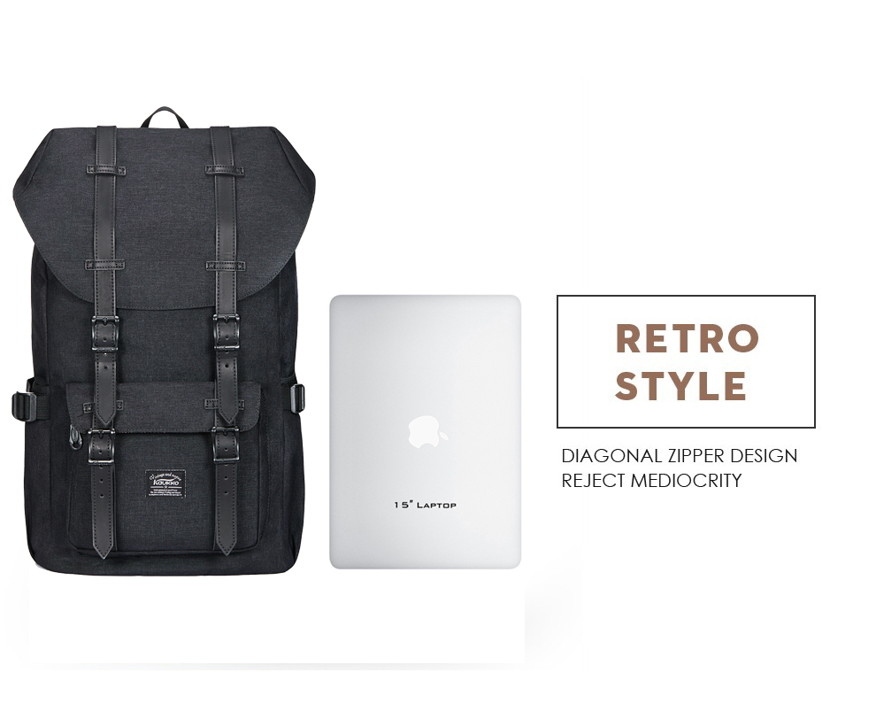 "87b1a8b6f442 Kaukko Backpacks Women s Daypack Men s Travel School Laptop Bags Waterproof  for 14 "" Notebook Casual Daypacks SchoolbagsUSD 27.99-29.59 piece"