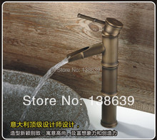 Free shipping luxury Bathroom faucet,antique brass basin sink Mixer tap,antique bronze bathroom basin faucet,discount products