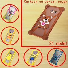 latest Phone Cover For Alcatel One Touch Idol 6030 OT6030 OT-6030 6030X 6030A 3D Cartoon Character Image Soft Silicone Case