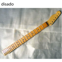 disado 22 Frets inlay dots reversed headstok Canadian maple Electric Guitar Neck Guitar Parts Wholesale can be customized