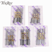 FENGRISE 100Pcs Mix Packing Sewing Machine Needles Stainless Steel Apparel Sewing Fabric Tools Accessories Supplies HAX1