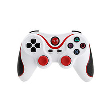 Red plus White Wireless Bluetooth Sixaxis Controller for Sony PS3 Console Game