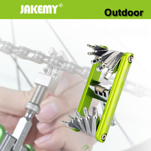 Buy JAKEMY 11 1 Bike Wrench Bicycle Multi Repair Tool Set Kit Hex Spoke Cycle Screwdriver Wrench Mountain Bikes Cycling Tools for $11.05 in AliExpress store