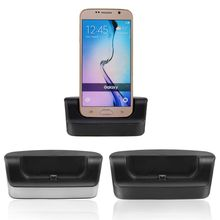 NEW Sync OTG USB Dual Docking Station Charger Charging Cradle Dock + Micro USB Cable For Samsung Galaxy S6 Active