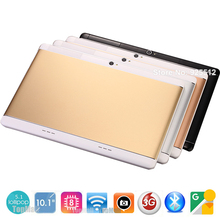 2017 New 10 inch Octa Core unlock 3G WCDMA Tablet 4GB RAM 32GB ROM Dual SIM Cards Cellular Android 5.1 GPS Tablette 10 10.1 Gift