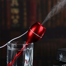 Popular usb air Humidifier New homeful Portable Goblet Mini Ultrasonic Water Mist Humidifier Filter Air Purifier hot(China)