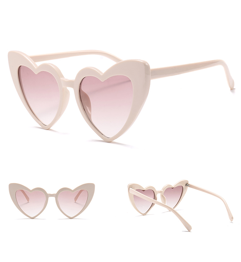 love heart sunglasses women cat eye vintage 7112 details (4)