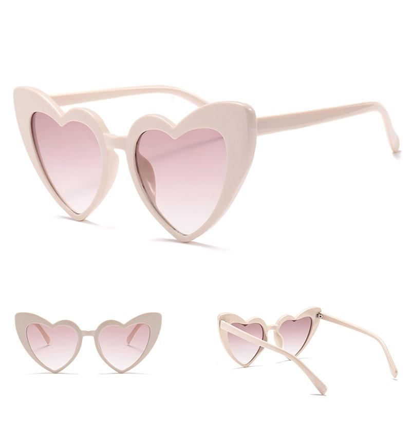 love heart sunglasses women cat eye vintage 7112 details (4)