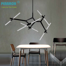 Creative Branch Arts Pendant Light lamp Modern Italian Design Personality Living Room Restaurant Lamps fixtures(China)