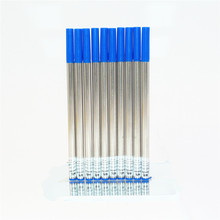 Jinhao 10pcs Blue Universal Ink Refill Rollerball Pen New