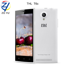 THL t6c Quad Core Android 5.1 Smartphone MTK6580 1.3Ghz 1G+8G GPS Mobile Phone WCDMA 5.0 inch IPS Dual SIM Card cell phone
